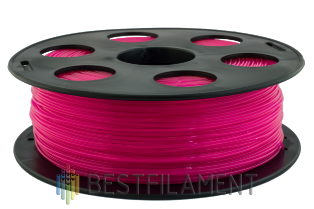 Bestfilament pink PLA plastic for 3D printer 1 kg (1.75 mm) PLA plastic for the 3D printer. Diameter of 1.75 mm. Weight 1 kg Color pink