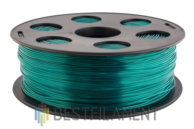 Emerald Watson Bestfilament for 3D printers 1kg (1.75 mm) Watson for a 3D printer. Diameter of 1.75 mm. Weight 1 kg Color emerald