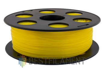 Bestfilament yellow PLA plastic for 3D printer 1 kg (1.75 mm)