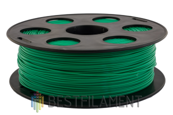 Bestfilament green PLA plastic for 3D printer 1 kg (1.75 mm)