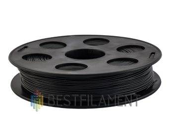 Bestfilament black PETG plastic for 3D printers 0.5 kg (1.75 mm)