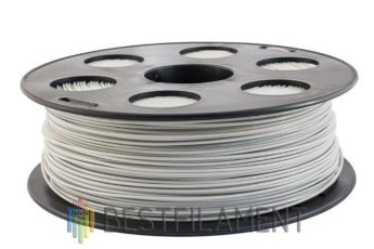 Light grey Bestfilament PLA plastic for 3D printer 1 kg (1.75 mm)