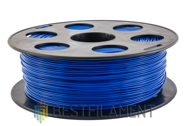 Bestfilament blue PLA plastic for 3D printer 1 kg (1.75 mm) PLA plastic for the 3D printer. Diameter of 1.75 mm. Weight 1 kg Colour blue