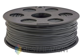 Dark grey Bestfilament ABS plastic for 3D printer 1 kg (1.75 mm)