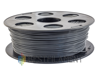 Dark grey Bestfilament PLA plastic for 3D printer 1 kg (1.75 mm)