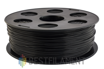 Bestfilament black ABS plastic for 3D printer 1 kg (1.75 mm)