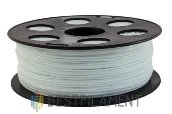 Bestfilament white ABS plastic for 3D printer 1 kg (1.75 mm)