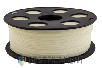 Natural Bestfilament ABS plastic for 3D printer 1 kg (1.75 mm)