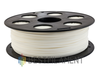 Bestfilament white PLA plastic for 3D printer 1 kg (1.75 mm)