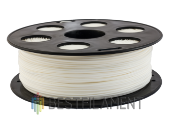 White Bestfilament PETG plastic for 3D printer 1 kg (1.75 mm)