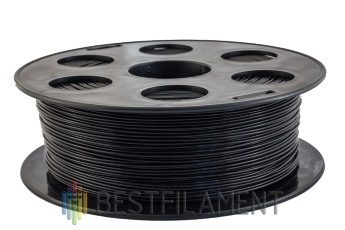 Bestfilament black PETG plastic for 3D printer 1 kg (1.75 mm)