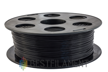 Bestfilament black PLA plastic for 3D printer 1 kg (1.75 mm)