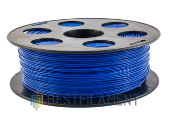 Blue Bestfilament PETG plastic for 3D printer 1 kg (1.75 mm)
