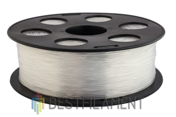 Natural Bestfilament PETG plastic for 3D printer 1 kg (1.75 mm)